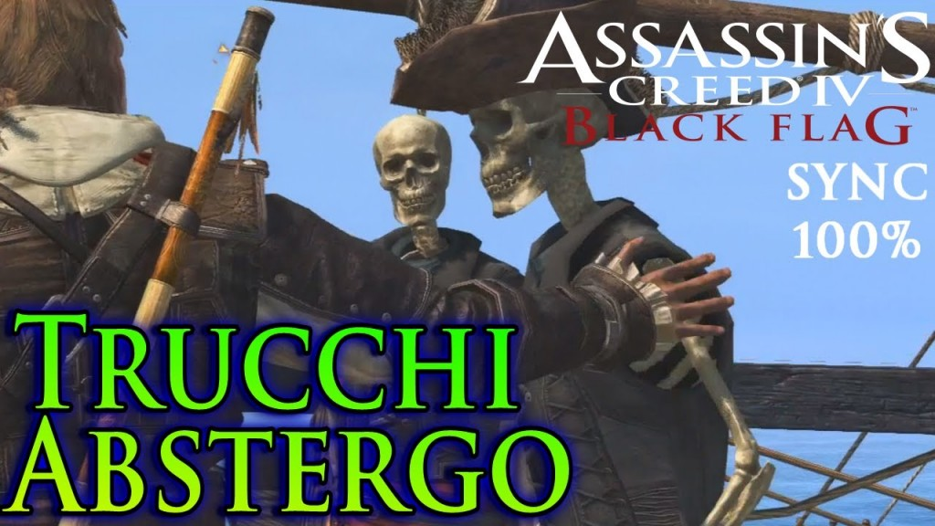 ASSASSIN'S CREED IV BLACK FLAG TRUCCHI ABSTERGO IMG.1